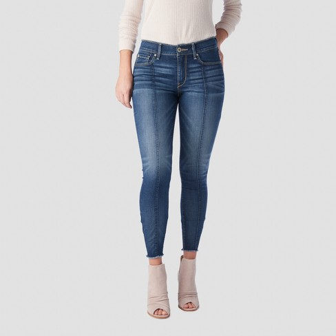 DENIZEN® from Levi's® Women's High-Rise Seamed Ankle Jeggings - (Juniors') Medium Wash - image 1 of 4
