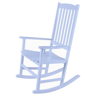 Willow Bay Patio Rocking Chair - White