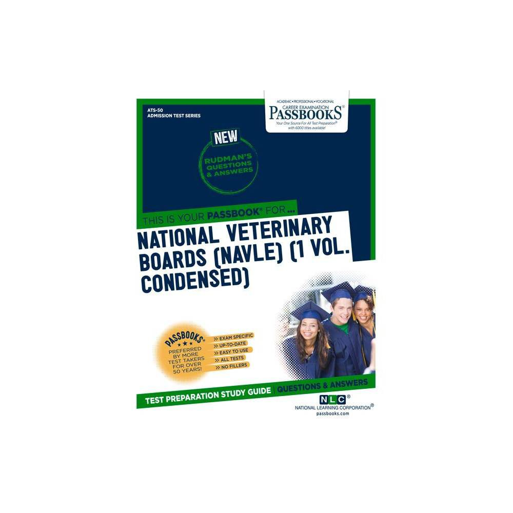 National Veterinary Boards Nbe Nvb 1 Vol Volume 50 Admission Test Paperback