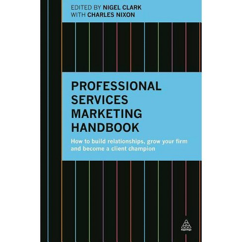 Professional Services Marketing Handbook - (Paperback) - image 1 of 1
