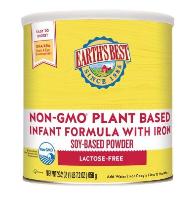 Earth's Best Non-GMO Plant Based Infant Formula - 23.2oz