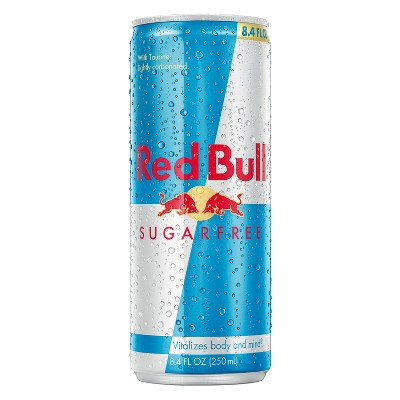 Red Bull Sugar Free Energy Drink - 8.4 fl oz Can
