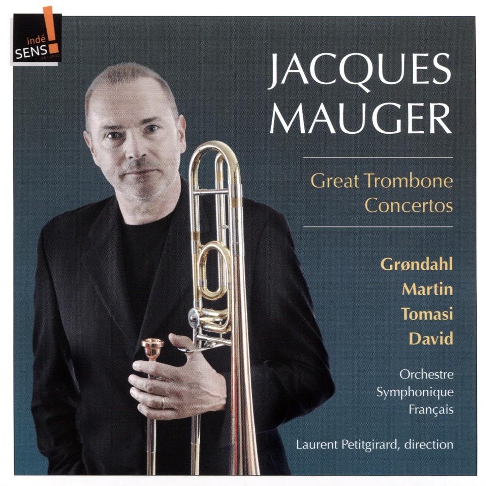Jacques Mauger - Great Trombone Concertos (CD)