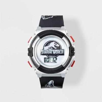 Boys' Jurassic World Watch - Silver/Black