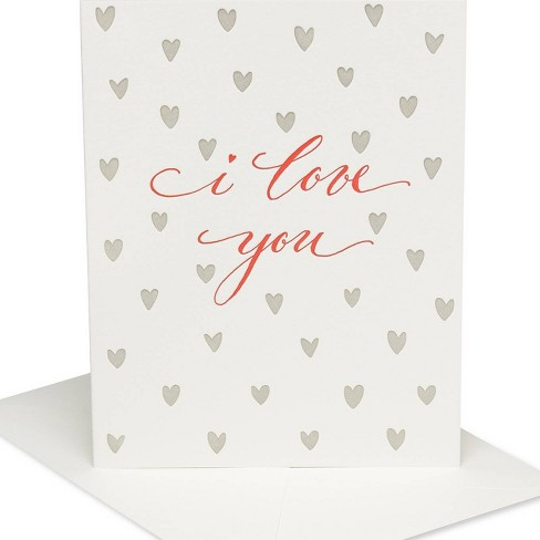 I Love You' Simple Elegant Card - PAPYRUS - image 1 of 4