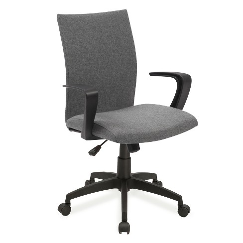 Linen Apostrophe Office Chair Grey - Leick Home - image 1 of 1