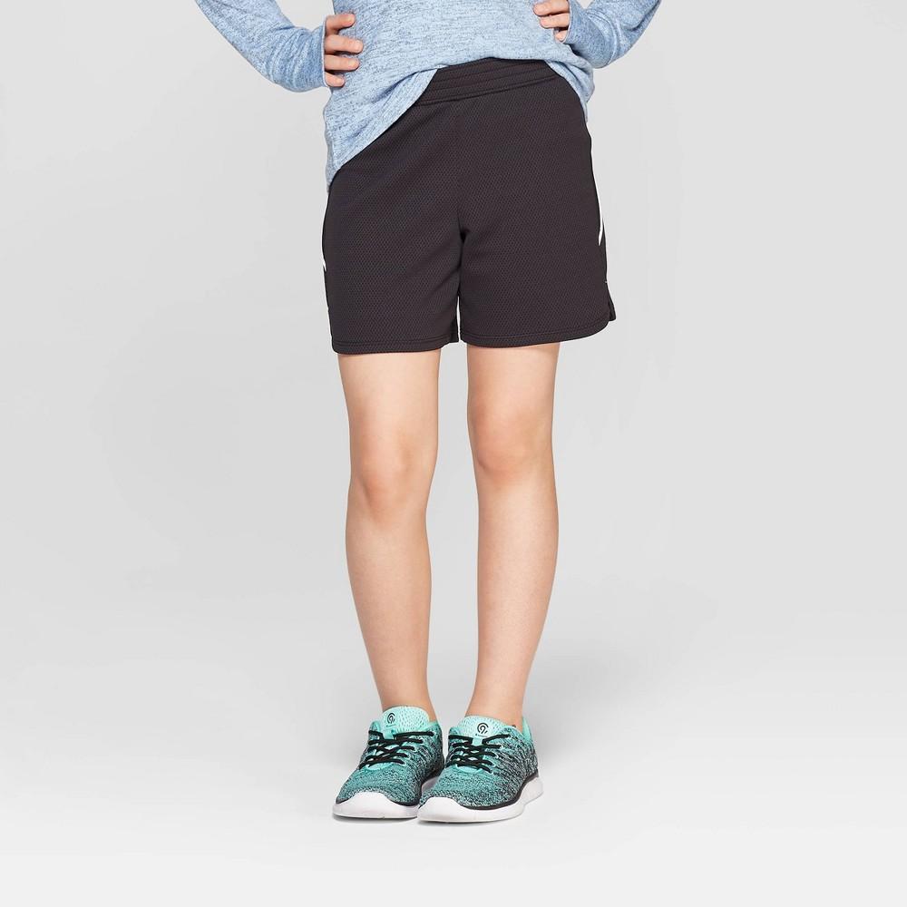 Girls' 5 Gym Shorts - C9 Champion Black XL