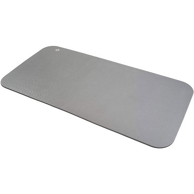 Airex 32-1257PL Corona 200 Workout Exercise Fitness Non Slip 0.6 Inch Thick Foam Floor Mat Pad for Yoga or Pilates at Home or Gym, Platinum