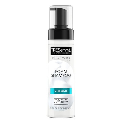 TRESemme Pro Pure Foam Shampoo For Volumized Hair Volume Shampoo - 6.76 fl oz