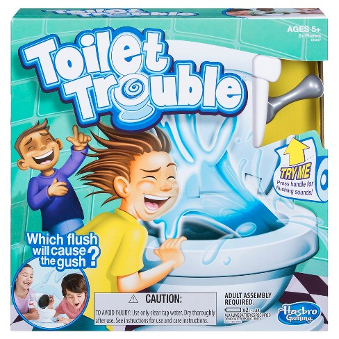 Toilet Trouble Game Target