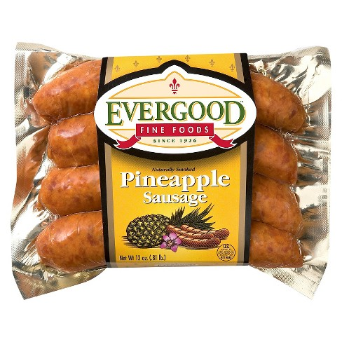 Evergood Fine Foods Pineapple Sausage - 4ct/13oz - image 1 of 1