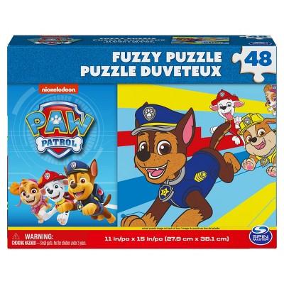 Cardinal PAW Patrol Kids' Fuzzy Effect Puzzle - 48pc