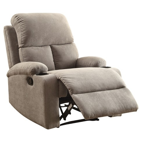 Accent Chairs Acme Furniture Gray - image 1 of 4
