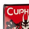 Just Funky Cuphead Collectibles | Cuphead Don't Deal With The Devil Tin Sign - image 4 of 4