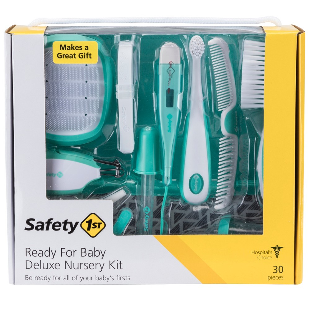Image of Safety 1st - Ready! Deluxe Baby Nursery Kit