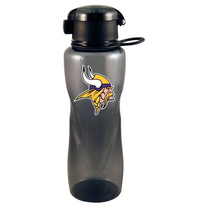 NFL Minnesota Vikings Tritan Flip Top Water Bottle - image 1 of 1