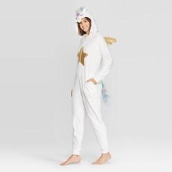 Women's Unicorn Union Suit - White