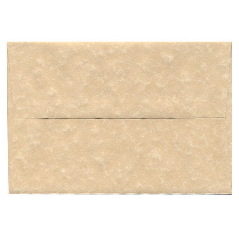 Jam Paper Envelopes A8 50ct Parchment - Brown