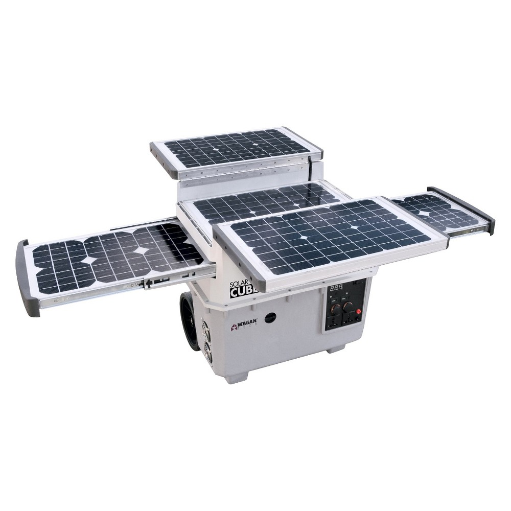 Wagan Solar e Power Cube 1500, Gray