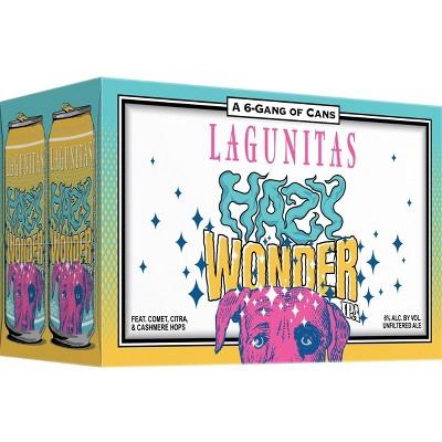 Lagunitas Hazy Wonder IPA Beer - 6pk/12 fl oz Cans