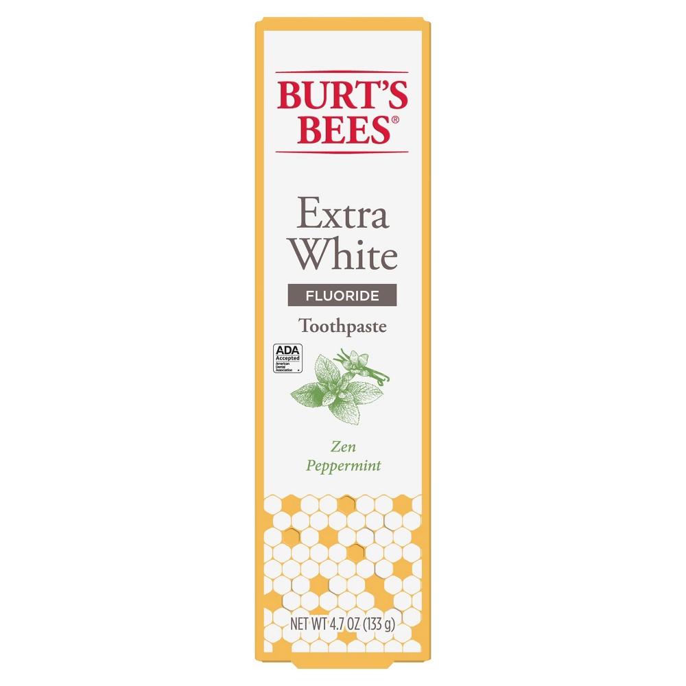 Best Burt Bees Zen Peppermint Whitening Fluoride Toothpaste 47oz