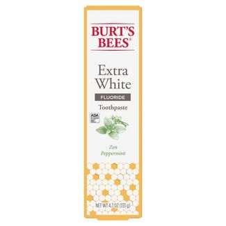 Burts Bees Zen Peppermint Whitening Fluoride Toothpaste - 4.7oz