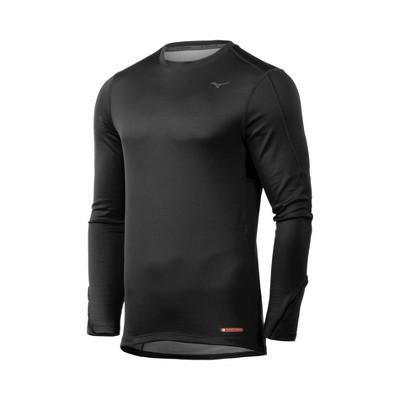 Mizuno Men's Breath Thermo Base Layer Long Sleeve Running Shirt