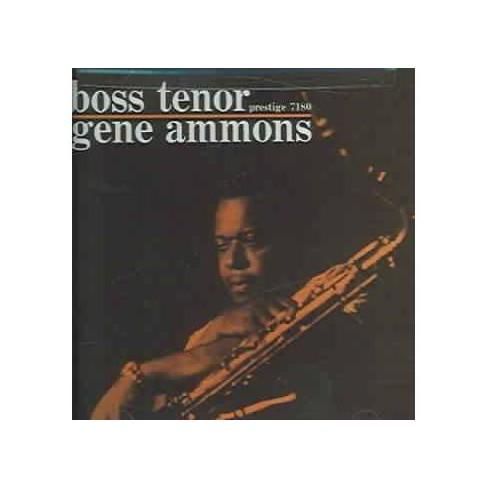 Gene Ammons - Boss Tenor (RVG Remaster) (CD) - image 1 of 1