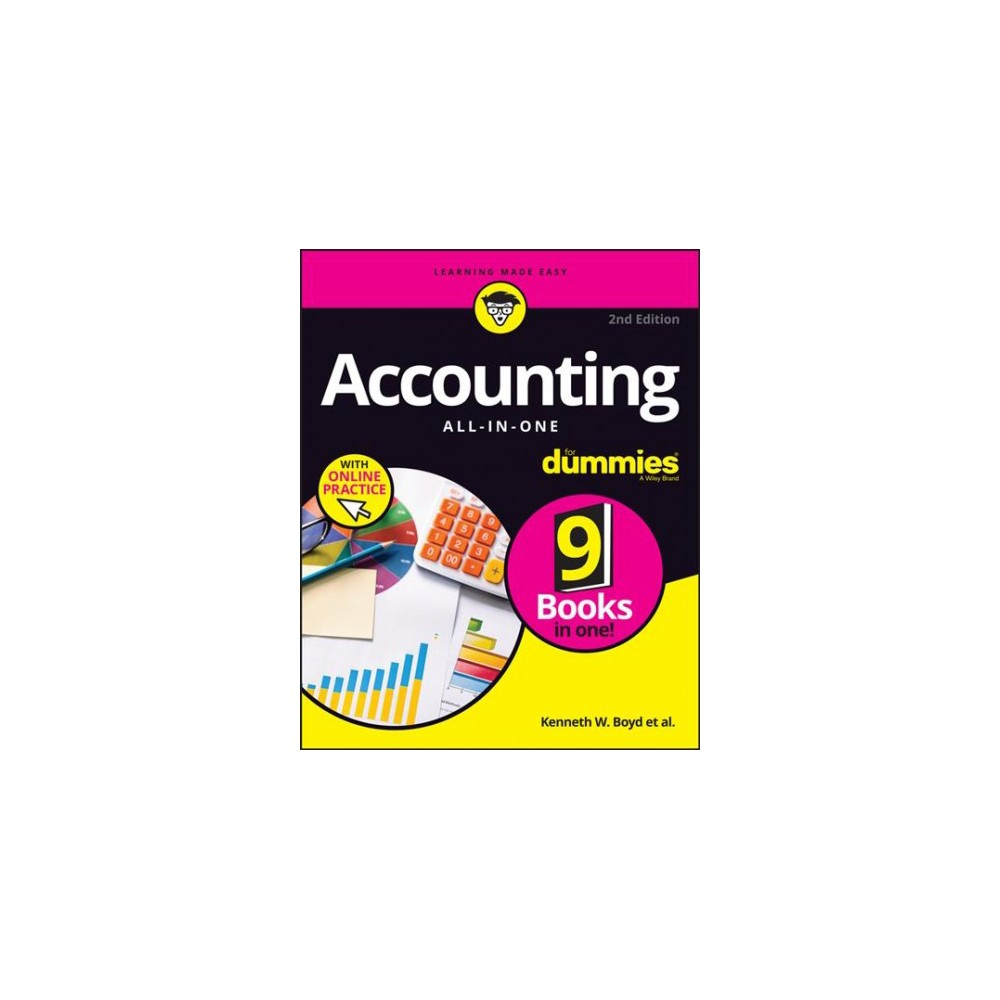 Accounting All-in-One for Dummies : With Online Practice - 2 by Joseph W. Kraynak (Paperback)
