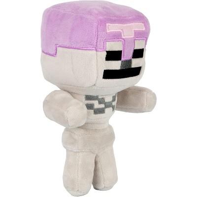 JINX Inc. Minecraft Happy Explorer Series 7 Inch Plush   Skeleton Horseman