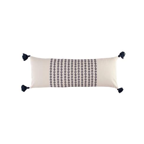 Novogratz 12x30 Layla Throw Pillow Navy - image 1 of 4