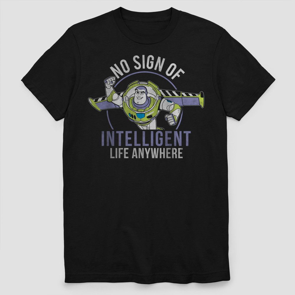 Men's Disney Pixar Short Sleeve Graphic T-Shirt Black S