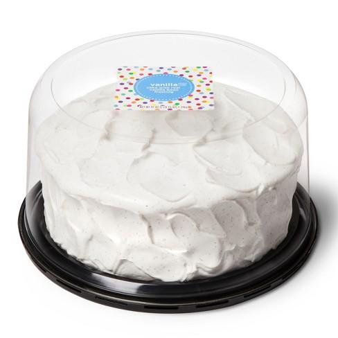 French Vanilla Dessert Cake