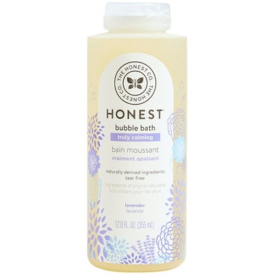 The Honest Company Truly Calming Bubble Bath Lavender - 12 fl oz