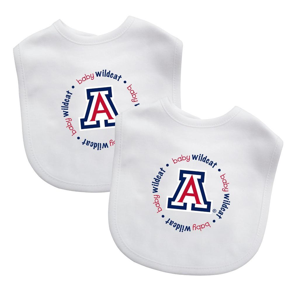 NCAA Arizona Wildcats Baby Bib 2pk