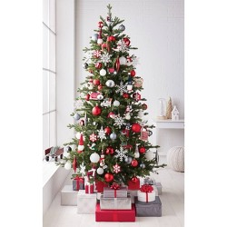 85ct North Pole Farmhouse Christmas Ornament Set - Wondershop™