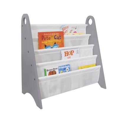 Modern Sling Bookshelf Gray/White - WildKin