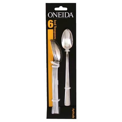 Oneida Aptitude Tall Drink Spoons- Set of 6