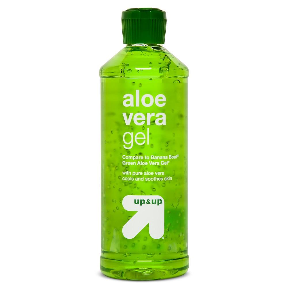 Image of Green Aloe Vera Gel -16oz - Up&Up