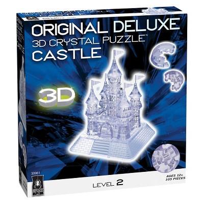 Bepuzzled Crystal Castle: 3D Puzzle 105pc