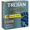 Trojan Sensitivity BareSkin Lubricated Latex Condoms - 24ct - image 3 of 4