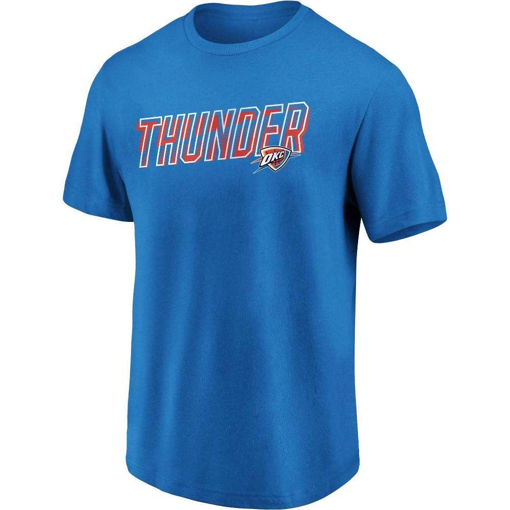 Nba Oklahoma City Thunder Men 39 S Bi Blend Short Sleeve T Shirt Xxl