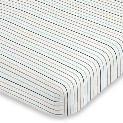 Carter's Stripe Mini Crib Super Soft Fitted Crib Sheet