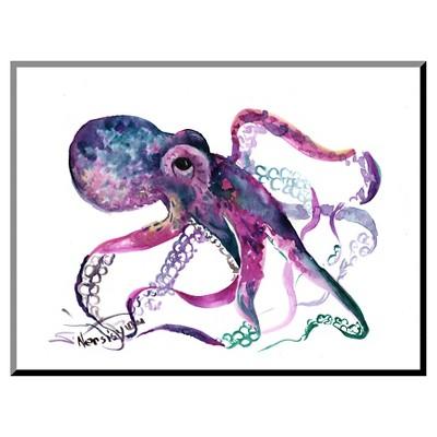 Octopus 4 Mounted Print
