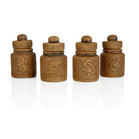 Seven20 Harry Potter Hogwarts Houses 1.45-Oz Ceramic Storage Jars - Set of 4 - image 1 of 4