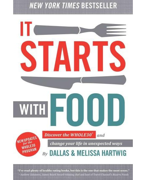 It Starts With Food (Hardcover) (Dallas Hartwig & Melissa Hartwig) - image 1 of 1