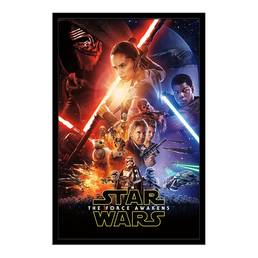 Swtfa - One Sheet (24X36) Framed Poster Trends International, Multi-Colored