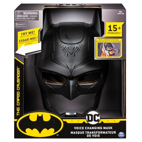 Batman Voice Changing Mask with Sounds, Black image number null