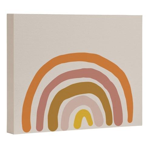 "16"" x 20"" Urban Wild Studio Paint Rainbow Unframed Wall Canvas Art - Deny Designs - image 1 of 1"