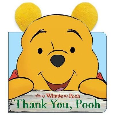 Thank You, Pooh - (Ears Books)(Board Book)